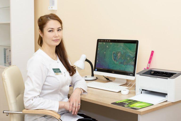Клиника The Time косметолог Десятова Ирина